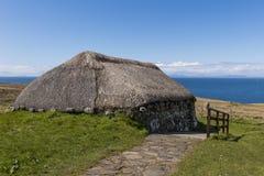 Farmhouse Skye Museum of Island Life Stock Images