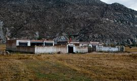 Farmhouse in Tibet Stock Images