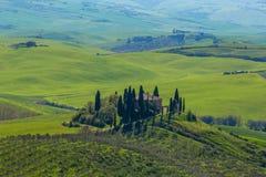 Farmhouse tuscany Stock Images