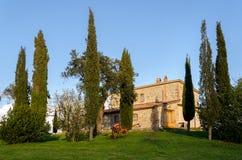 Farmhouse in Tuscany Stock Photography