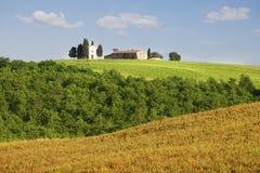 Farmhouse in Tuscany, Italy Royalty Free Stock Photo