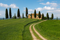 Farmhouse in Tuscany Stock Image