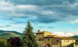 Farmhouse in tuscany. A typical farmhouse in Tuscany (Italy Stock Photography