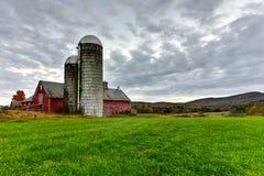 Farmhouse in Vermont Stock Image