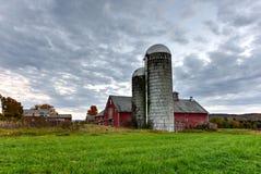 Farmhouse in Vermont Stock Photo