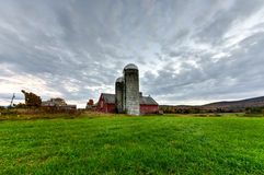 Farmhouse in Vermont Royalty Free Stock Photo