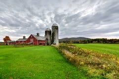 Farmhouse in Vermont Royalty Free Stock Photos
