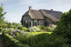 A farmhouse in the village Giethoorn Stock Photography