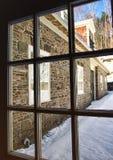Farmhouse window Royalty Free Stock Photos