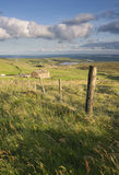 Farmhouse on yorkshire moorland Royalty Free Stock Image