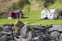 farmhouses επαρχίας Στοκ Εικόνες