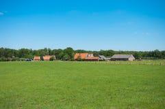 Farmhouses Stock Photography