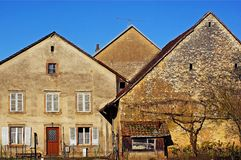 The farmhouses Stock Photography