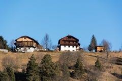 farmhouses Στοκ Εικόνες