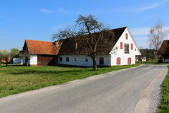 Farmhouses. In Western Styria Austria Royalty Free Stock Images