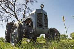 Farming. Tractor scene for farming and agriculture Stock Images