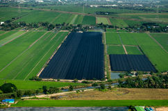 Farming, Agriculture Aerial Photography in Thailand Stock Images