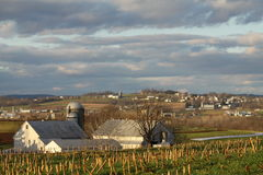 Farming Community Royalty Free Stock Photography
