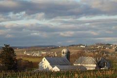 Farming Community Stock Photo