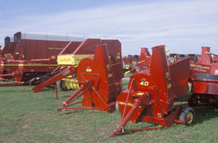 Farming equipment in WI Royalty Free Stock Images