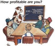 Farming finance Royalty Free Stock Photography