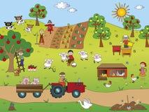 Farming royalty free stock photos