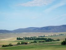 Farming land. Farm land in southern new south wales Australia Stock Photos