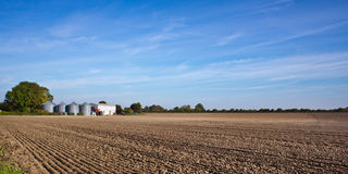 Farming landscape Royalty Free Stock Photo