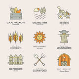 Farming Logotype Stock Photos
