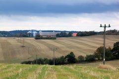 Farming near Borringesjoen, South Sweden Royalty Free Stock Images