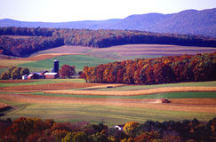 Farming Near Klingerstown Pennsylvania Royalty Free Stock Images