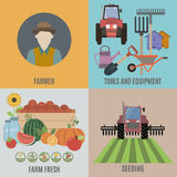 Farming and Organic Food Stock Image
