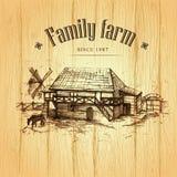 Farming, rural landscape Stock Images
