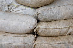 Farming sacks Stock Image