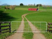 Farming scene Royalty Free Stock Image