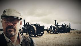 Farming Steam engines and country folk .uk stock photos