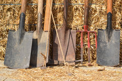 Farming tools Stock Photography