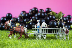Farming toy people Royalty Free Stock Photography