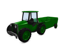 Farming tractor Royalty Free Stock Photo