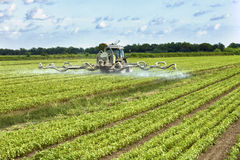 Farming tractor Royalty Free Stock Image