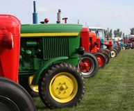 Farming Tractors. Royalty Free Stock Photo