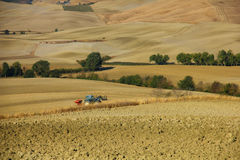 Farming in Tuscany Stock Photos