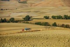 Farming in Tuscany. Farming in autumn (Tuscany, Italy Stock Photos