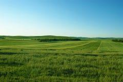 Farmland. Arable farmland in the northern China Stock Photo