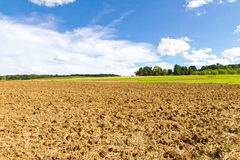 Farmland in autumn Royalty Free Stock Photos