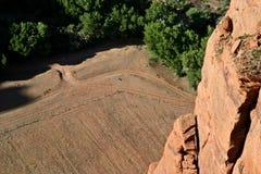 Farmland in Canyon de Chelly Royalty Free Stock Photos