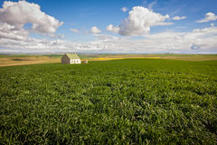 Farmland cottage Royalty Free Stock Photography