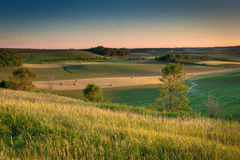 Farmland in country Royalty Free Stock Image
