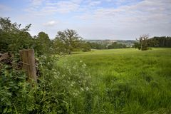 Farmland, Gloucestershire Royalty Free Stock Images