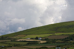 Farmland on the Gower Peninsular. Stock Images